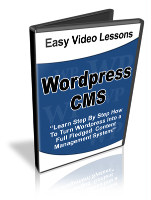 Pay for WordPress CMS Tutorial - WP Content Management System