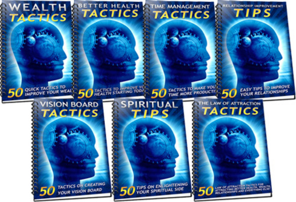 Pay for 350 Self-Help Tips & Tactics MRR Ebook with Giveaway Rights