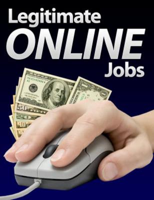 Pay for Legitimate Online Jobs Unrestricted PLR Ebook
