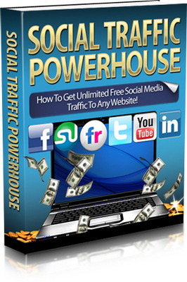 Pay for Social Traffic Powerhouse MRR Ebook with Giveaway Rights