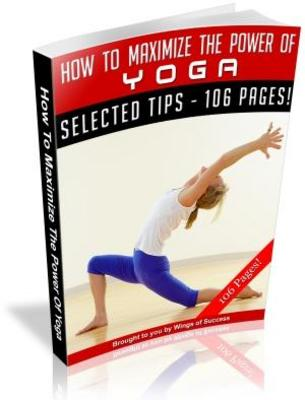 Pay for How To Maximize The Power Of Yoga MRR Ebook with Giveaway Rights