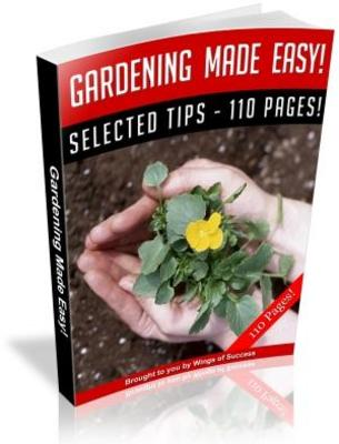 Pay for Effective Gardening Tips And Tricks MRR Ebook with Giveaway Rights