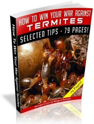 Pay for Termite Control - How To Get Rid Of Termites MRR Ebook