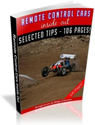 Pay for Remote Control Cars Inside Out MRR Ebook with Giveaway Right