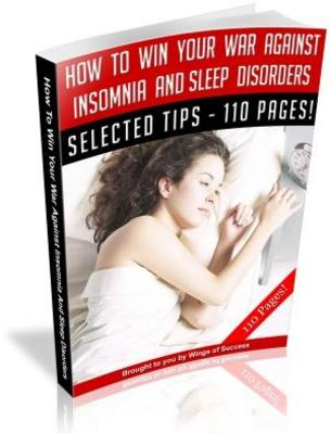 Pay for How To Beat Insomnia - Sleep Disorders  MRR Ebook