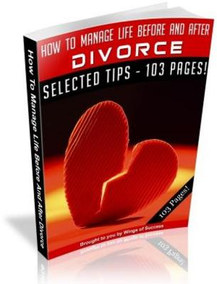 Pay for How To Manage Life Before And After Divorce MRR with Giveaway Rights eBook