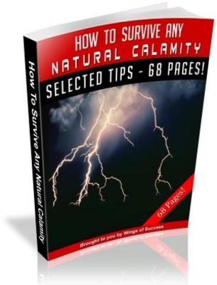 Pay for How To Survive Any Natural Calamity MRR with Giveaway Rights eBook