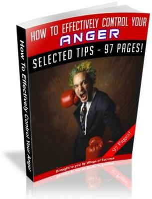 Pay for Anger Management: Mature Ways Of Dealing With Anger MRR Ebook