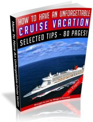 Pay for How To Have An Unforgettable Cruise Vacation MRR Ebook