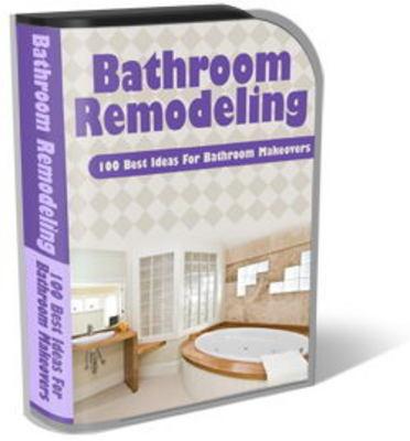 Bathroom Remodeling Website Template Plr Pack Bathroom Makeover