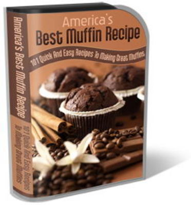 Pay for Muffin Recipe Website Template Plr Pack