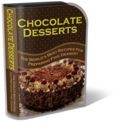 Pay for Chocolate Desserts Website Templates Plr Pack
