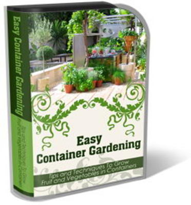Pay for Container Gardening Website Template Plr Pack