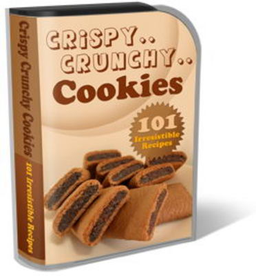 Pay for Crunchy Cookies Website Template Plr Pack
