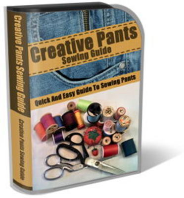 Pay for Creative Pants Sewing Website Template Plr Pack