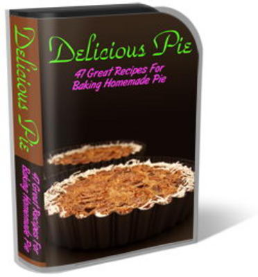 Pay for Delicious Pie Recipes Website Template Plr Pack