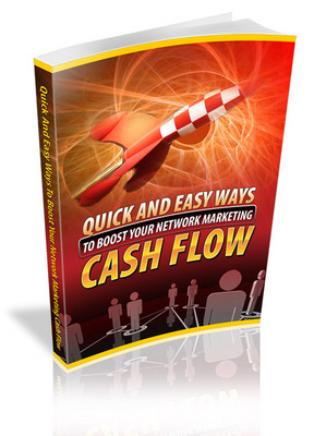 Pay for Easy Ways To Boost Your Network Marketing Cash Flow MRR Ebook
