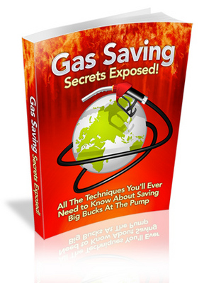 Pay for Gas Saving Secrets Exposed MRR Ebook with Giveaway Rights