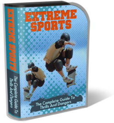 Pay for Extreme Sports Website Template Plr Pack