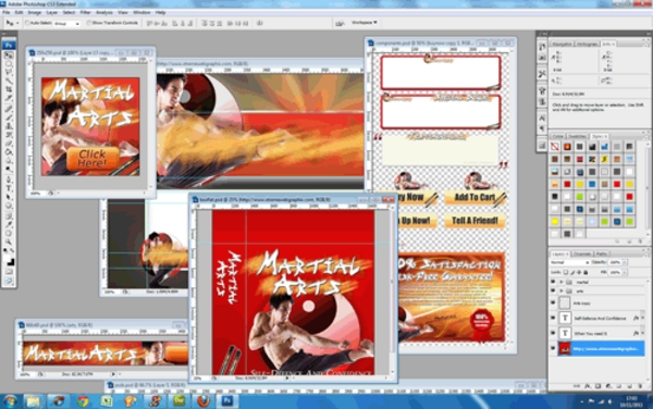 Pay For Martial Arts Niche Website Template