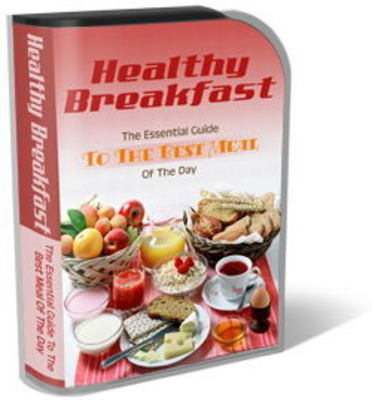 Pay for Healthy Breakfast Website Template Plr Pack