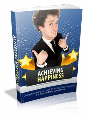 Pay for Achieving Happiness MRR Ebook with Giveaway Rights