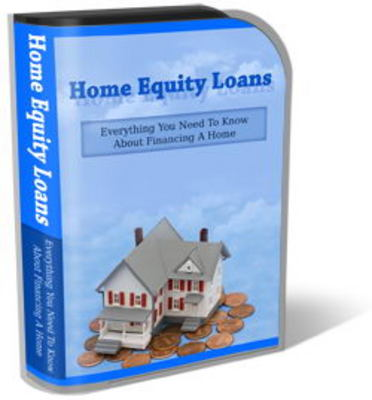 Pay for Home Equity Loan Website Template Plr Pack - Financing a Home