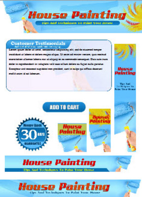 Pay for House Painting Website Template Plr Pack