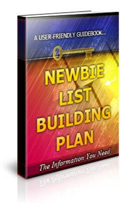 Free Newbie List Building Plan Unrestricted PLR Ebook Download thumbnail