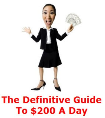 Pay for The Definitive Guide To $200 A Day PLR Ebook