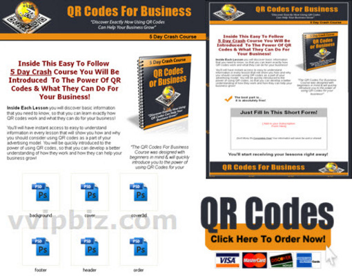 Pay for QR Codes For Business PLR Crash Course