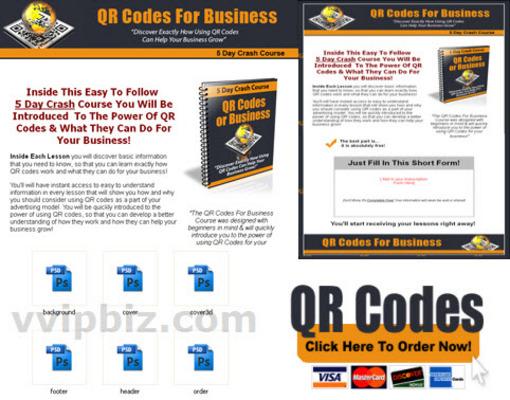 Pay for QR Codes For Business PLR Crash Course