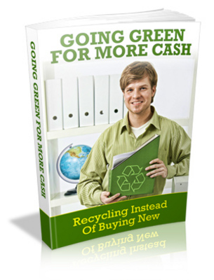 Pay for Going Green For More Cash MRR / Giveaway Rights