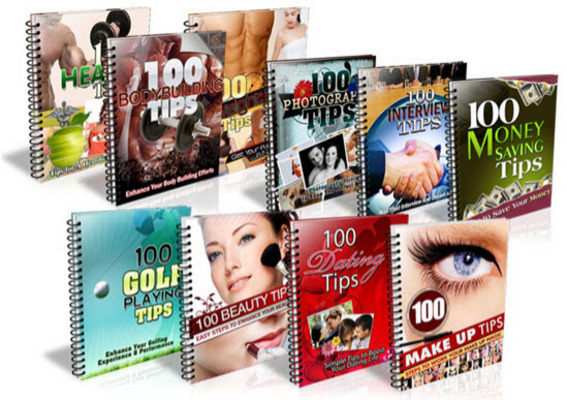 Pay for Ten Reports 100 Tips MRR Series / Giveaway Rights