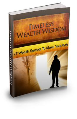 Pay for 77 Timeless Wealth Secrets To Make You Rich MRR