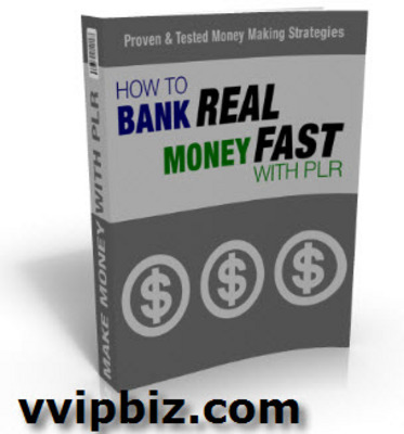 Pay for How To Bank Real Money Fast With PLR MRR Videos