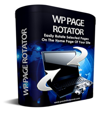 Pay for WP Page Rotator WordPress Plugin with MRR