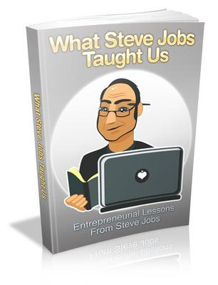 Pay for Entrepreneurial Lessons From Steve Jobss MRR Ebook