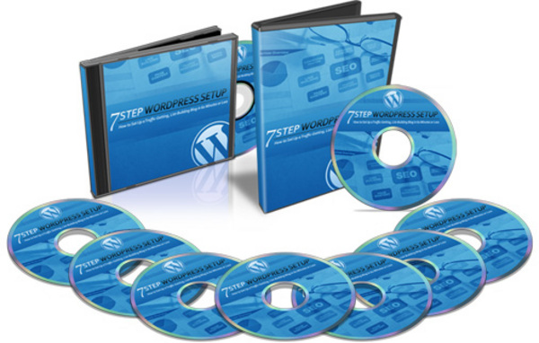 Pay for 7 Step Wordpress Setup Video Series & Audios MRR Package