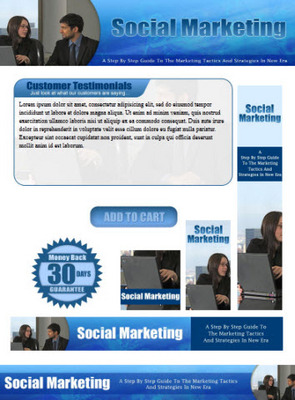 Pay for Social Marketing Website Template Plr Pack