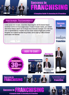 Pay for Franchise Website Template Plr Pack