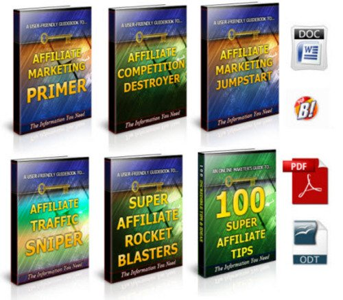 Pay for Affiliate Marketing No Restriction PLR Ebook Package
