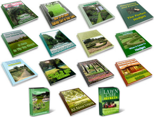 Pay for Lawn Care, Landscaping PLR Package