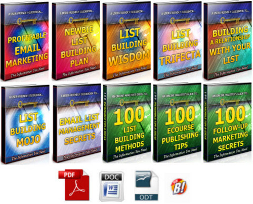 Pay for Email List Building Unrestricted PLR Ebook Package