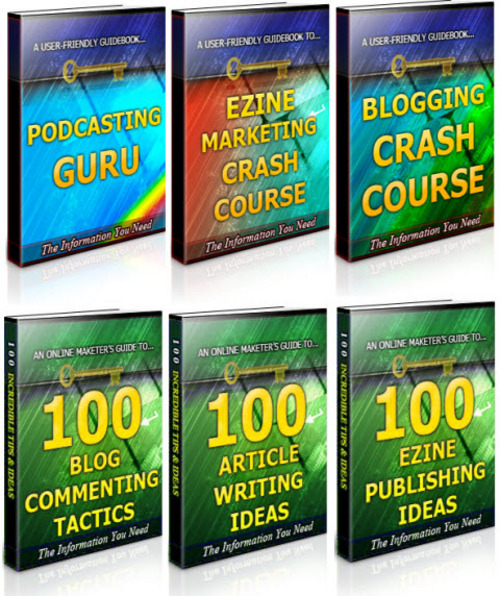 Pay for Ezines & Blogging Unrestricted PLR Ebook Package