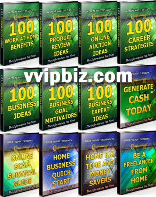 Pay for Home Business Unrestricted PLR Ebook Package