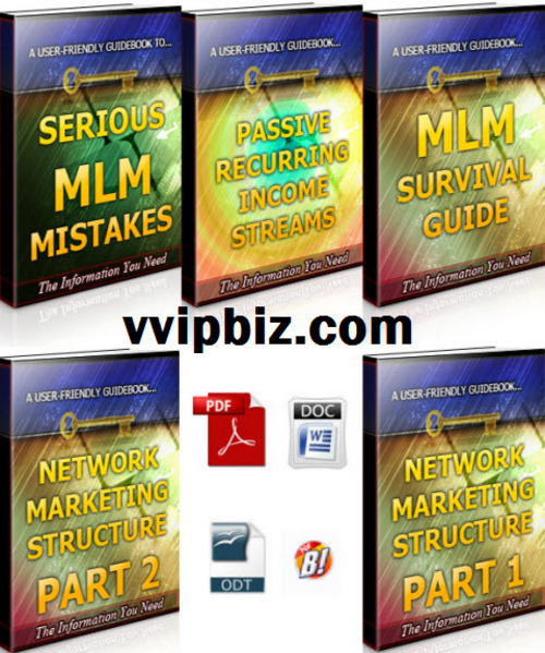Free Network Marketing Unrestricted PLR Ebooks Package Download thumbnail