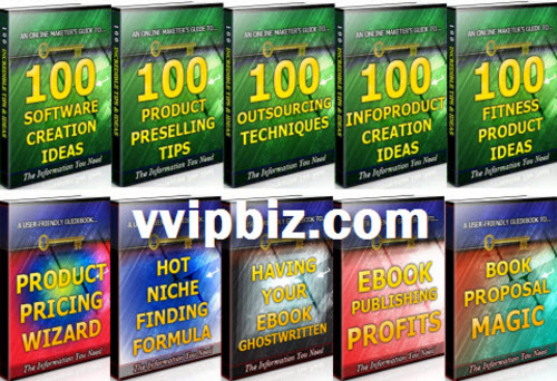 Pay for Product Creation Unrestricted PLR Ebook Package