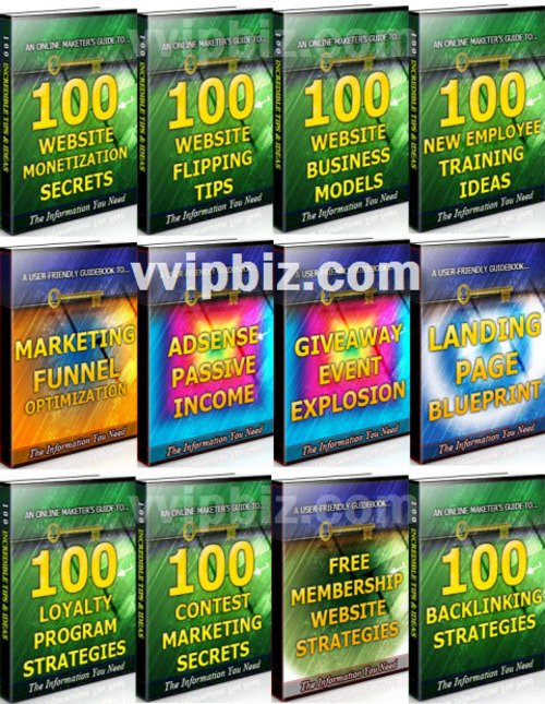 Pay for Website Success Tips Unrestricted PLR Ebook Package