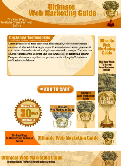 Pay for Web Marketing Website Template Plr Pack - Online Marketing